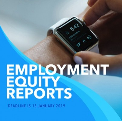 Employment Equity Reporting deadline 15 January 2019